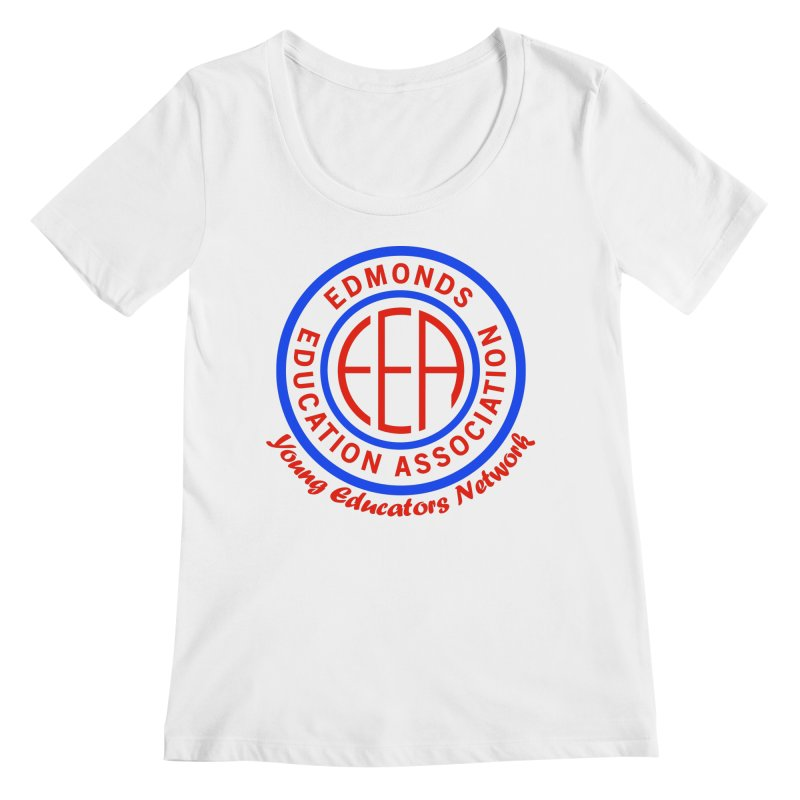 Edmonds EA Seal-Young Educators Network Women's Regular Scoop Neck by Edmonds Education Association Swag Shop
