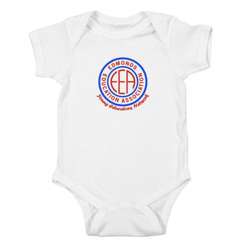 Edmonds EA Seal-Young Educators Network Kids Baby Bodysuit by Edmonds Education Association Swag Shop