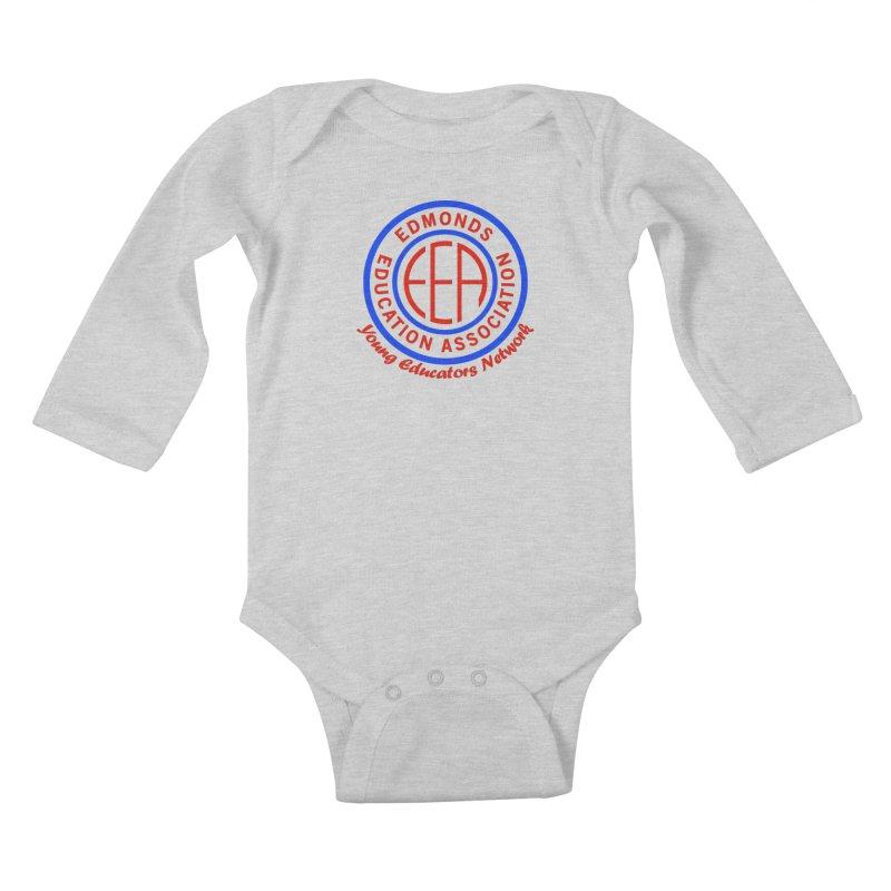 Edmonds EA Seal-Young Educators Network Kids Baby Longsleeve Bodysuit by Edmonds Education Association Swag Shop