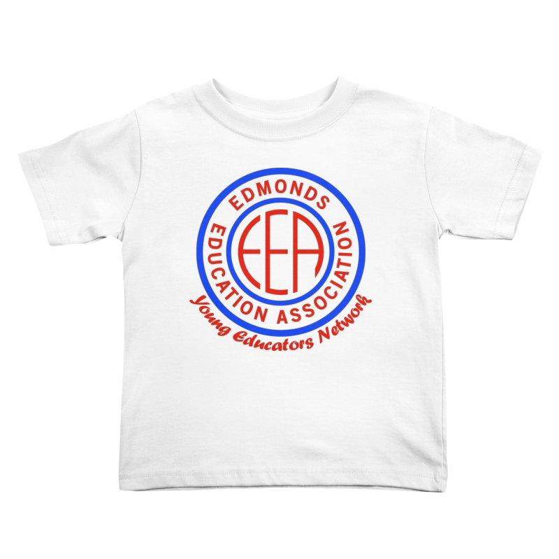 Edmonds EA Seal-Young Educators Network Kids Toddler T-Shirt by Edmonds Education Association Swag Shop