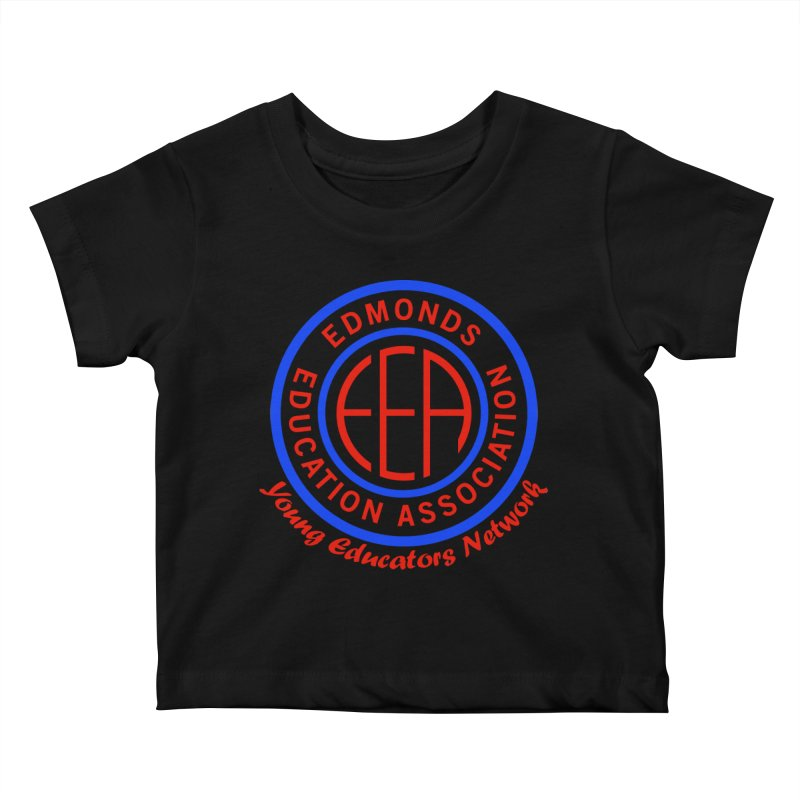 Edmonds EA Seal-Young Educators Network Kids Baby T-Shirt by Edmonds Education Association Swag Shop