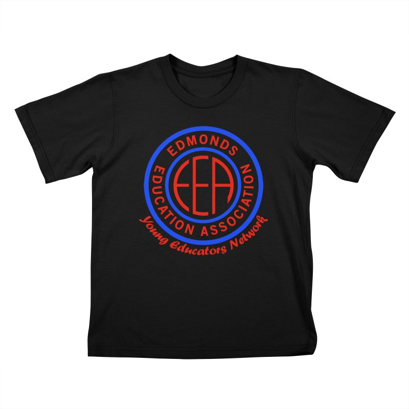 Edmonds EA Seal-Young Educators Network Kids T-Shirt by Edmonds Education Association Swag Shop