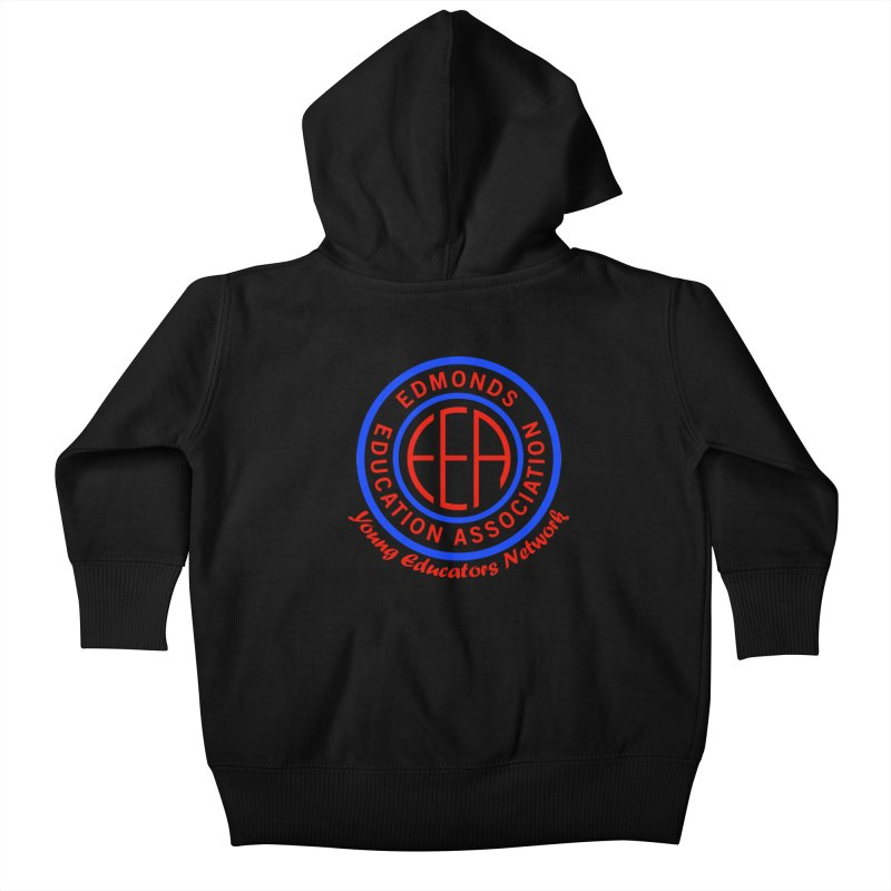 Edmonds EA Seal-Young Educators Network Kids Baby Zip-Up Hoody by Edmonds Education Association Swag Shop