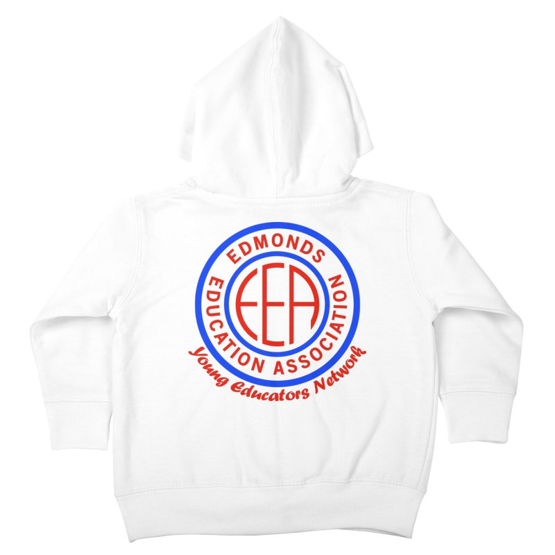 Edmonds EA Seal-Young Educators Network Kids Toddler Zip-Up Hoody by Edmonds Education Association Swag Shop