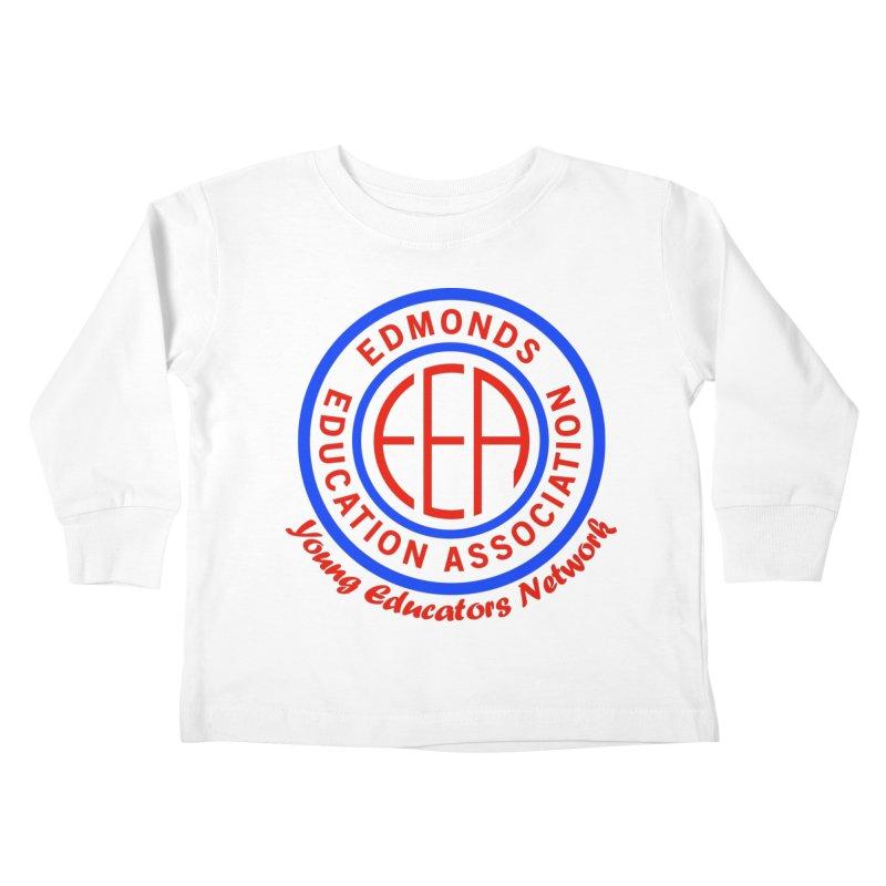 Edmonds EA Seal-Young Educators Network Kids Toddler Longsleeve T-Shirt by Edmonds Education Association Swag Shop