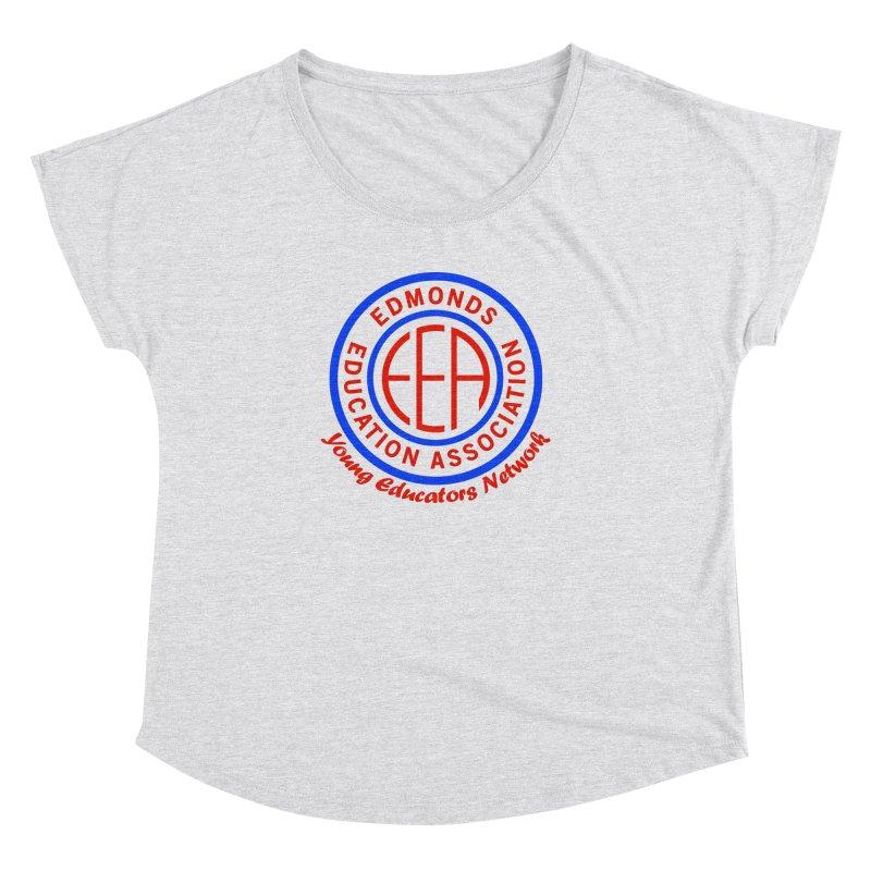 Edmonds EA Seal-Young Educators Network Women's Dolman Scoop Neck by Edmonds Education Association Swag Shop
