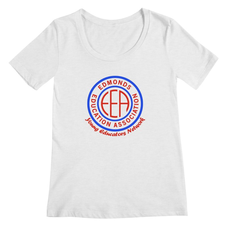 Edmonds EA Seal-Young Educators Network Women's Scoop Neck by Edmonds Education Association Swag Shop