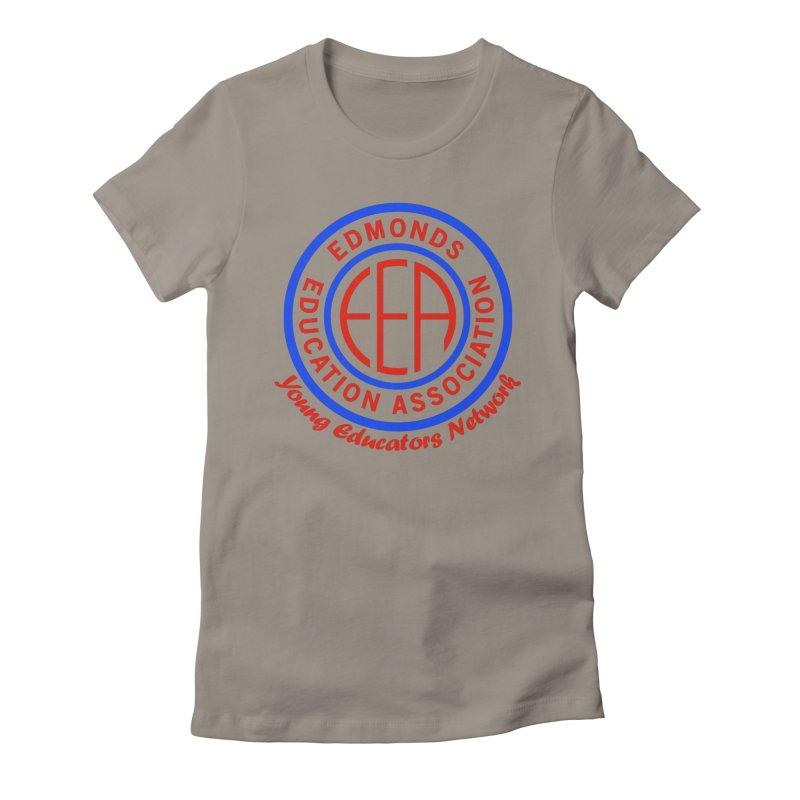 Edmonds EA Seal-Young Educators Network Women's T-Shirt by Edmonds Education Association Swag Shop