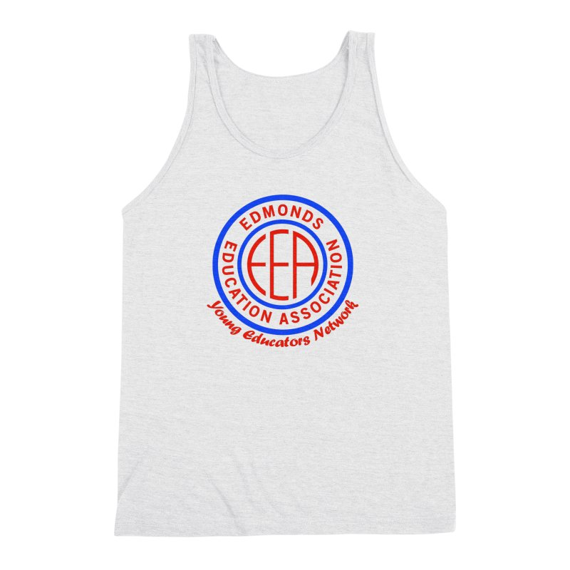 Edmonds EA Seal-Young Educators Network Men's Triblend Tank by Edmonds Education Association Swag Shop