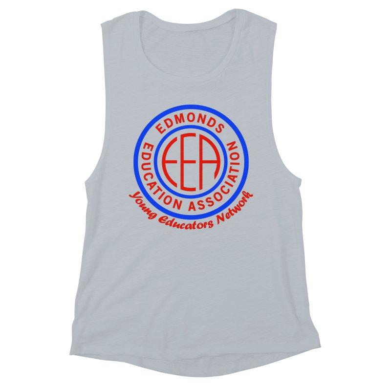 Edmonds EA Seal-Young Educators Network Women's Muscle Tank by Edmonds Education Association Swag Shop