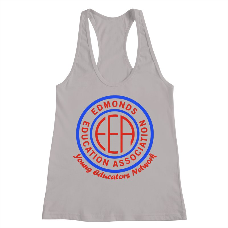 Edmonds EA Seal-Young Educators Network Women's Racerback Tank by Edmonds Education Association Swag Shop