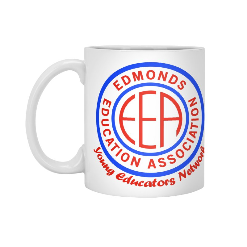 Edmonds EA Seal-Young Educators Network Accessories Standard Mug by Edmonds Education Association Swag Shop