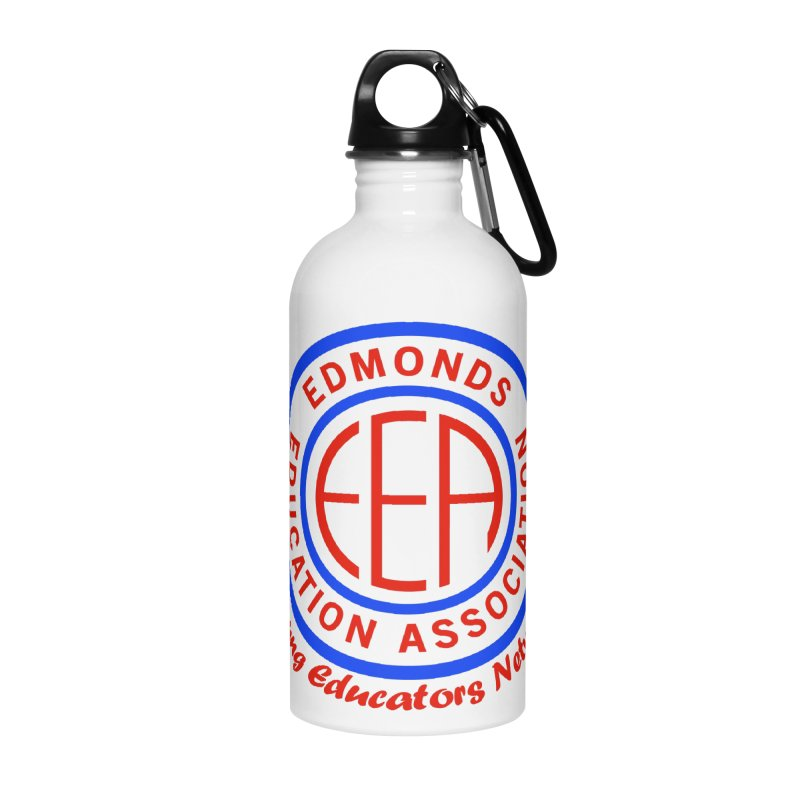 Edmonds EA Seal-Young Educators Network Accessories Water Bottle by Edmonds Education Association Swag Shop