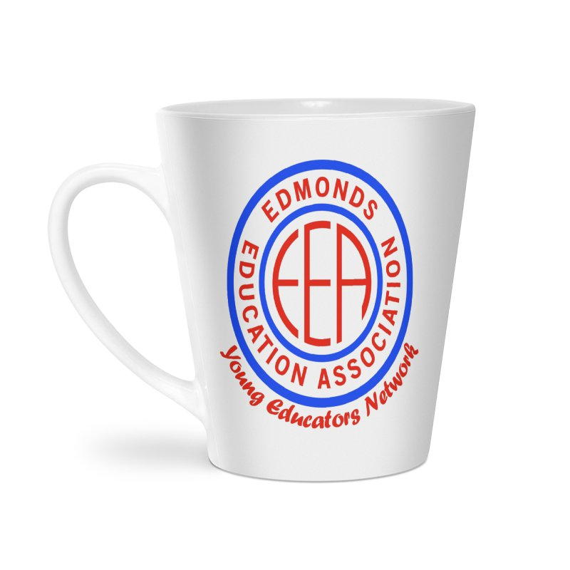 Edmonds EA Seal-Young Educators Network Accessories Latte Mug by Edmonds Education Association Swag Shop