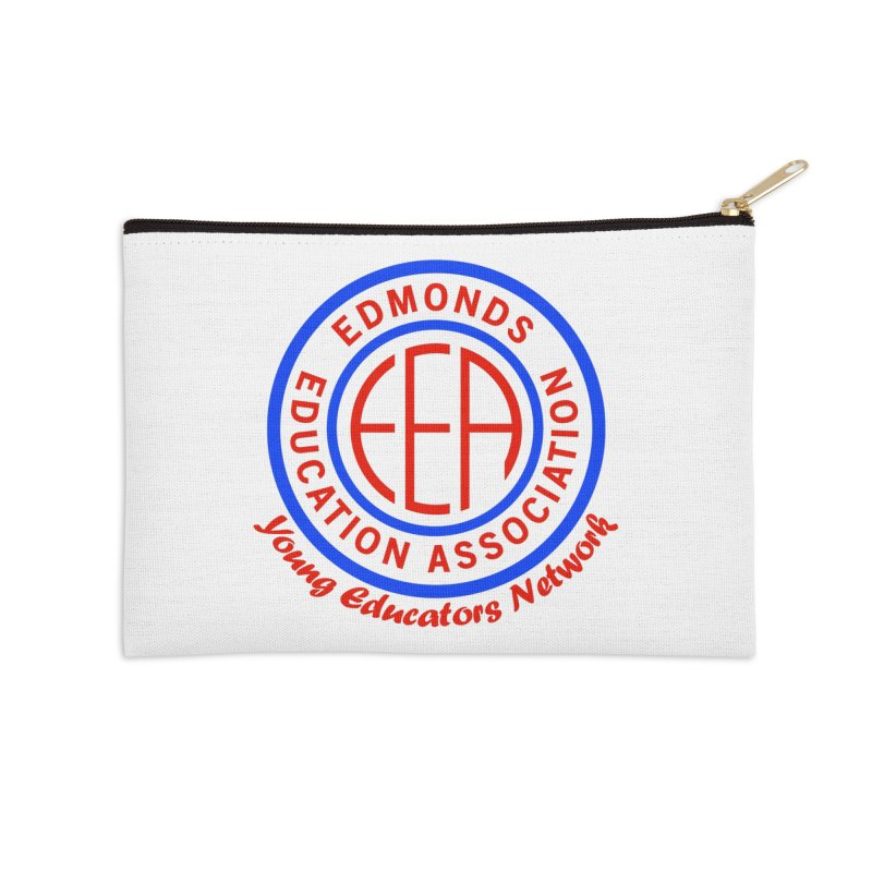 Edmonds EA Seal-Young Educators Network Accessories Zip Pouch by Edmonds Education Association Swag Shop