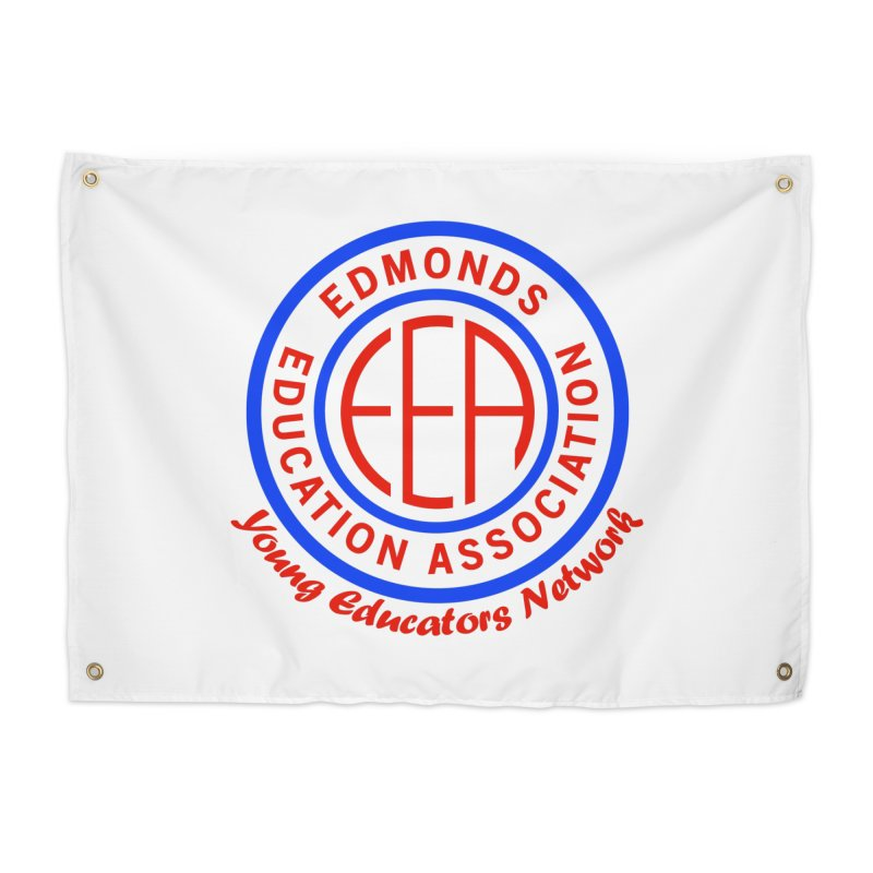 Edmonds EA Seal-Young Educators Network Home Tapestry by Edmonds Education Association Swag Shop