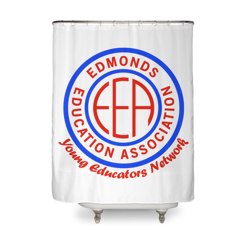 Edmonds EA Seal-Young Educators Network Home Shower Curtain by Edmonds Education Association Swag Shop