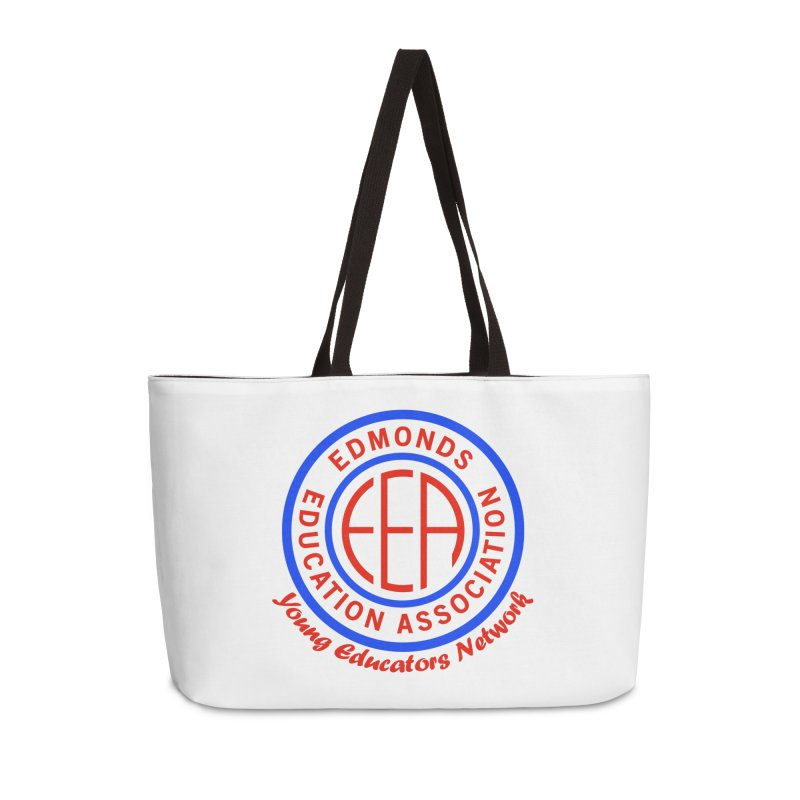 Edmonds EA Seal-Young Educators Network Accessories Weekender Bag Bag by Edmonds Education Association Swag Shop