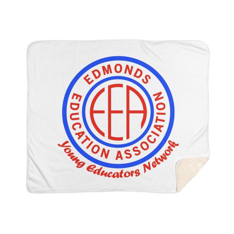 Edmonds EA Seal-Young Educators Network Home Sherpa Blanket Blanket by Edmonds Education Association Swag Shop