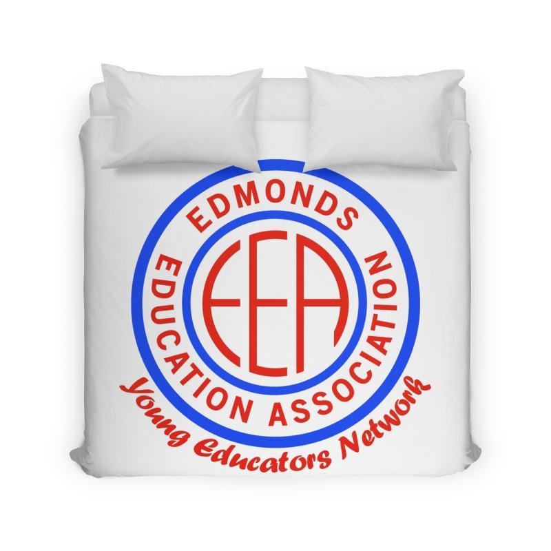 Edmonds EA Seal-Young Educators Network Home Duvet by Edmonds Education Association Swag Shop