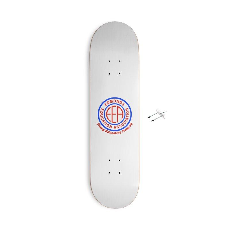 Edmonds EA Seal-Young Educators Network Accessories Skateboard by Edmonds Education Association Swag Shop