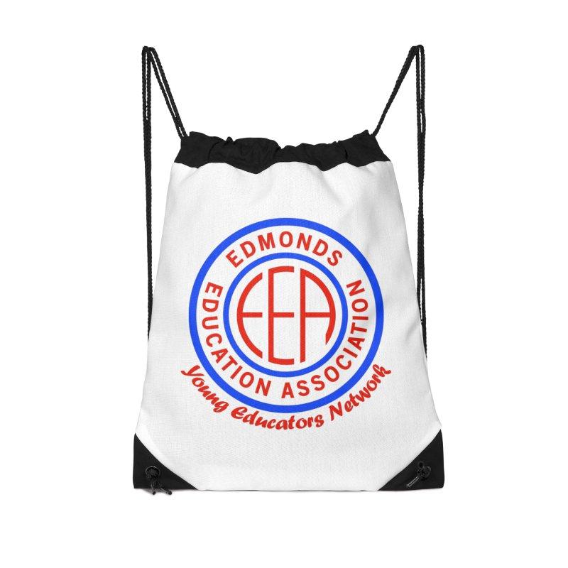 Edmonds EA Seal-Young Educators Network Accessories Drawstring Bag Bag by Edmonds Education Association Swag Shop