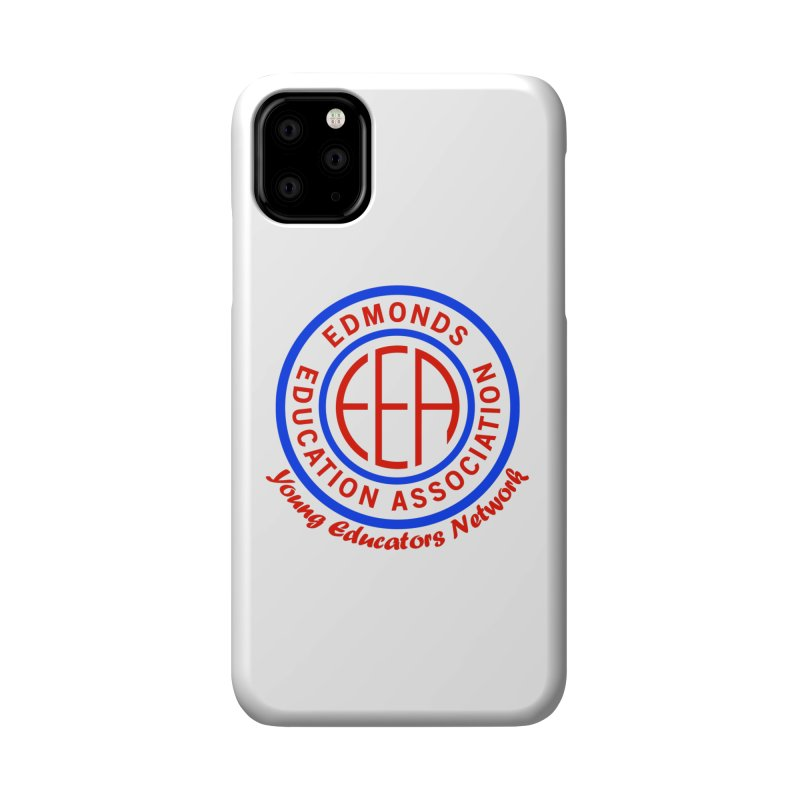 Edmonds EA Seal-Young Educators Network Accessories Phone Case by Edmonds Education Association Swag Shop