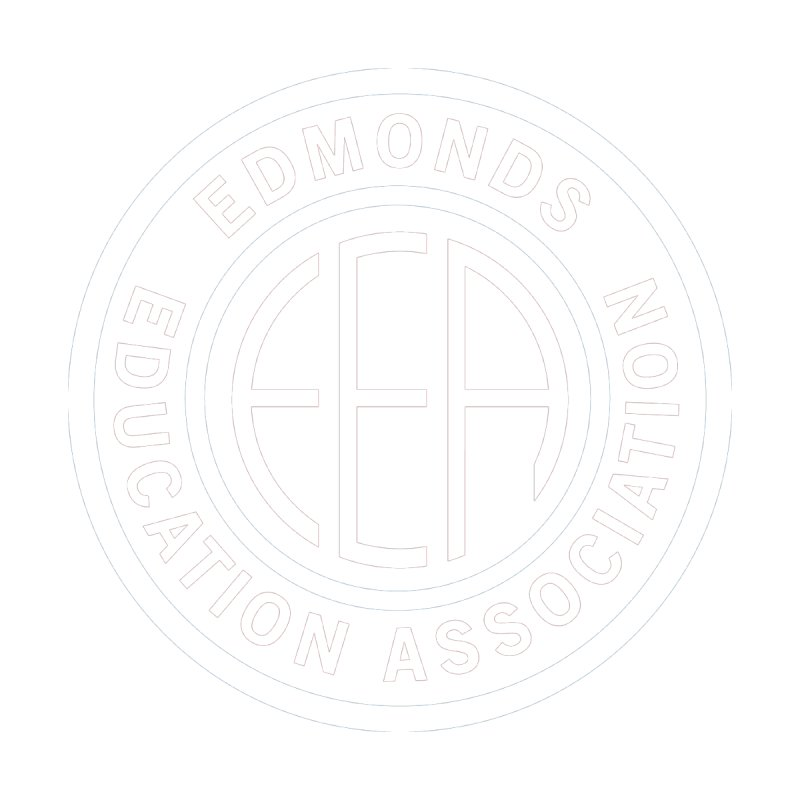 Edmonds EA Seal White-Full Size by Edmonds Education Association Swag Shop