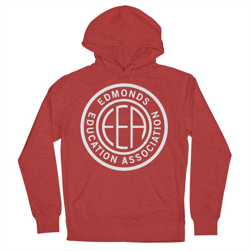 Edmonds EA Seal White-Full Size Women's Pullover Hoody by Edmonds Education Association Swag Shop