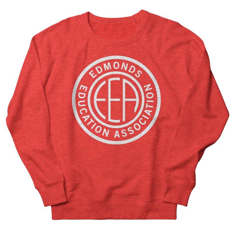 Edmonds EA Seal White-Full Size Women's Sweatshirt by Edmonds Education Association Swag Shop
