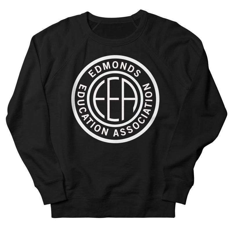Edmonds EA Seal White-Full Size Women's French Terry Sweatshirt by Edmonds Education Association Swag Shop
