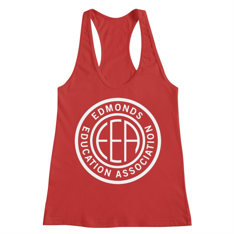 Edmonds EA Seal White-Full Size Women's Tank by Edmonds Education Association Swag Shop