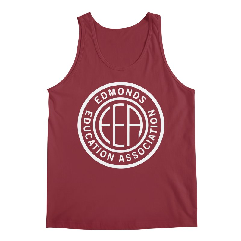 Edmonds EA Seal White-Full Size Men's Tank by Edmonds Education Association Swag Shop
