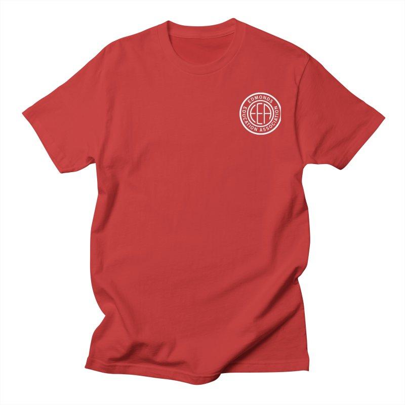 Edmonds EA Seal White-Logo Size Women's T-Shirt by Edmonds Education Association Swag Shop