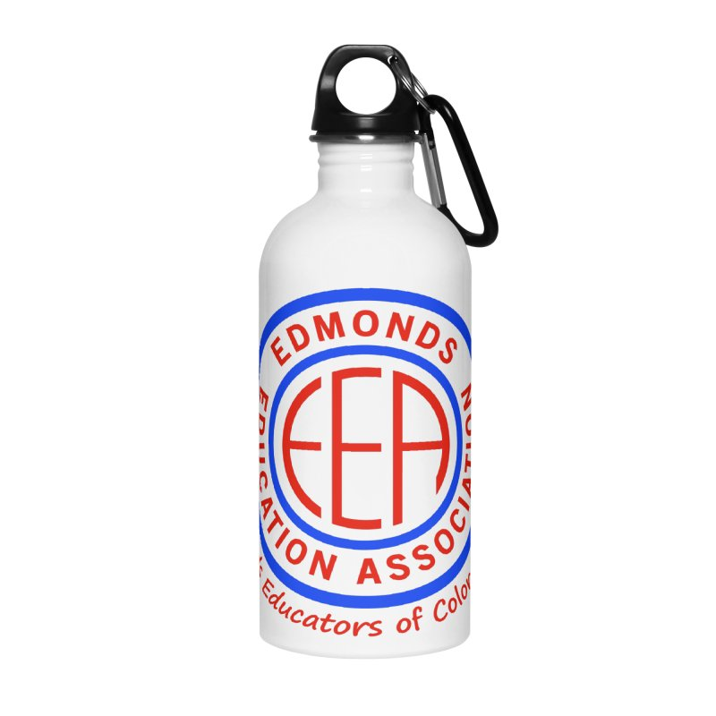 Edmonds EA Seal-Edmonds Educators of Color Network Accessories Water Bottle by Edmonds Education Association Swag Shop