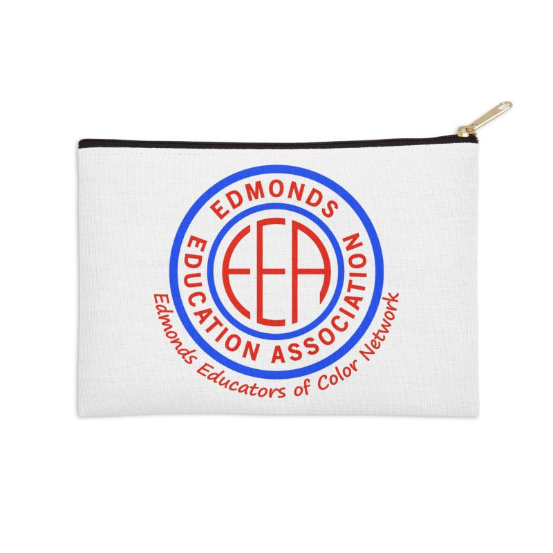 Edmonds EA Seal-Edmonds Educators of Color Network Accessories Zip Pouch by Edmonds Education Association Swag Shop