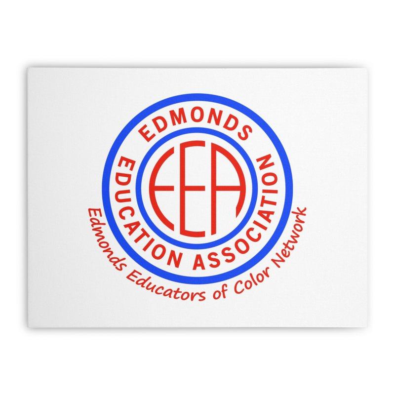 Edmonds EA Seal-Edmonds Educators of Color Network Home Stretched Canvas by Edmonds Education Association Swag Shop