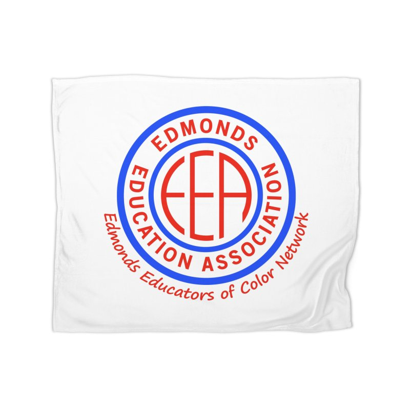 Edmonds EA Seal-Edmonds Educators of Color Network Home Blanket by Edmonds Education Association Swag Shop