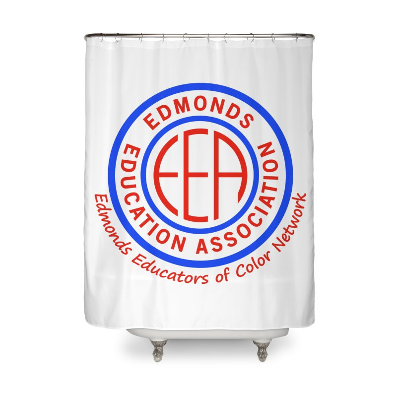 Edmonds EA Seal-Edmonds Educators of Color Network Home Shower Curtain by Edmonds Education Association Swag Shop