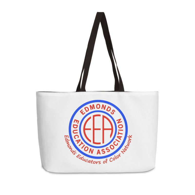 Edmonds EA Seal-Edmonds Educators of Color Network Accessories Weekender Bag Bag by Edmonds Education Association Swag Shop