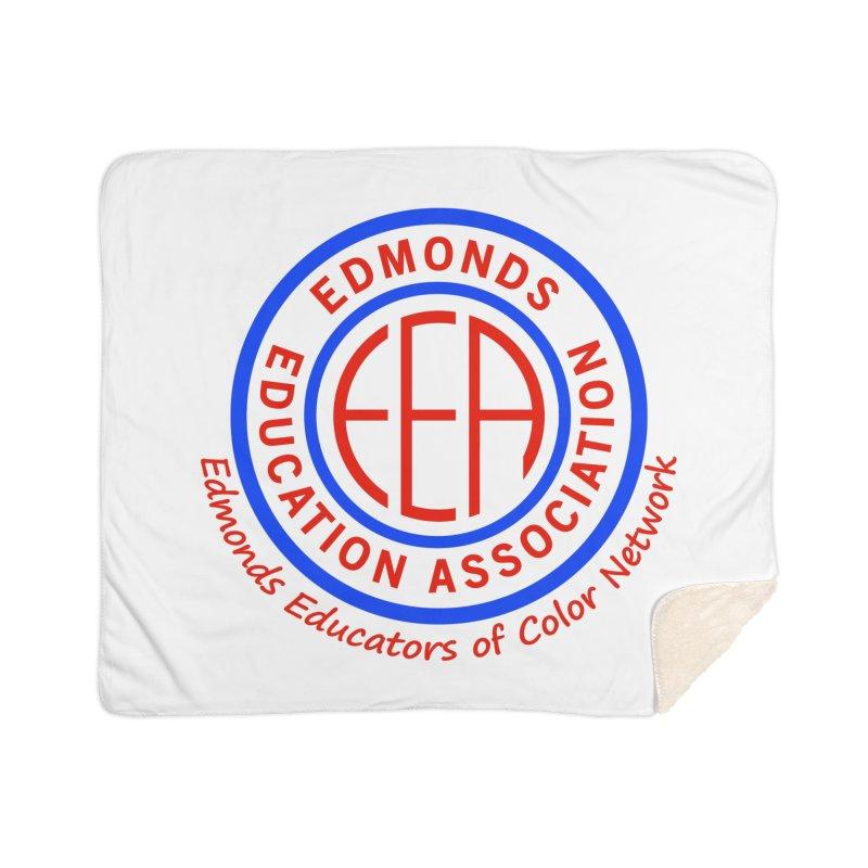 Edmonds EA Seal-Edmonds Educators of Color Network Home Sherpa Blanket Blanket by Edmonds Education Association Swag Shop