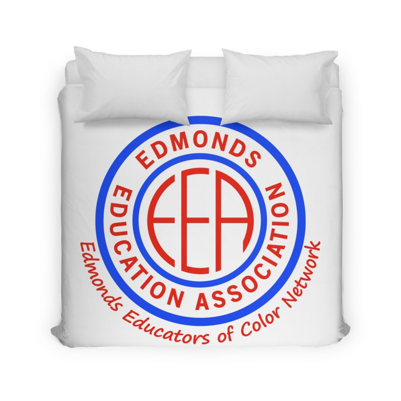 Edmonds EA Seal-Edmonds Educators of Color Network Home Duvet by Edmonds Education Association Swag Shop