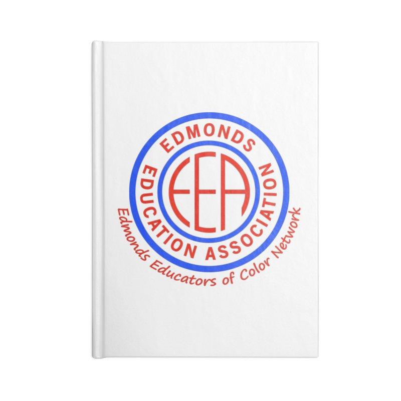 Edmonds EA Seal-Edmonds Educators of Color Network Accessories Lined Journal Notebook by Edmonds Education Association Swag Shop