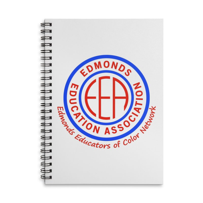 Edmonds EA Seal-Edmonds Educators of Color Network Accessories Notebook by Edmonds Education Association Swag Shop