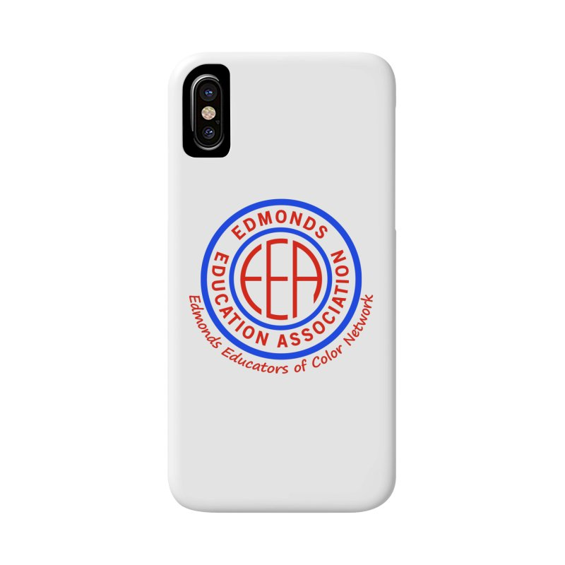 Edmonds EA Seal-Edmonds Educators of Color Network Accessories Phone Case by Edmonds Education Association Swag Shop