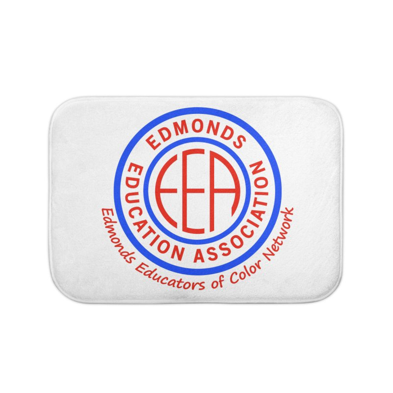 Edmonds EA Seal-Edmonds Educators of Color Network Home Bath Mat by Edmonds Education Association Swag Shop