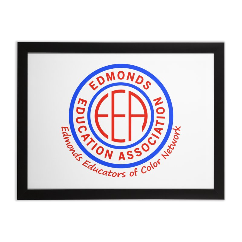 Edmonds EA Seal-Edmonds Educators of Color Network Home Framed Fine Art Print by Edmonds Education Association Swag Shop