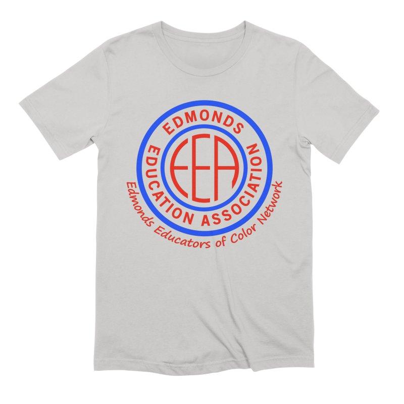 Edmonds EA Seal-Edmonds Educators of Color Network Men's Extra Soft T-Shirt by Edmonds Education Association Swag Shop