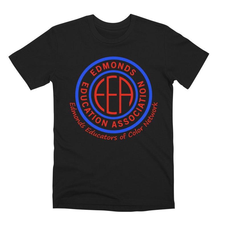 Edmonds EA Seal-Edmonds Educators of Color Network Men's Premium T-Shirt by Edmonds Education Association Swag Shop