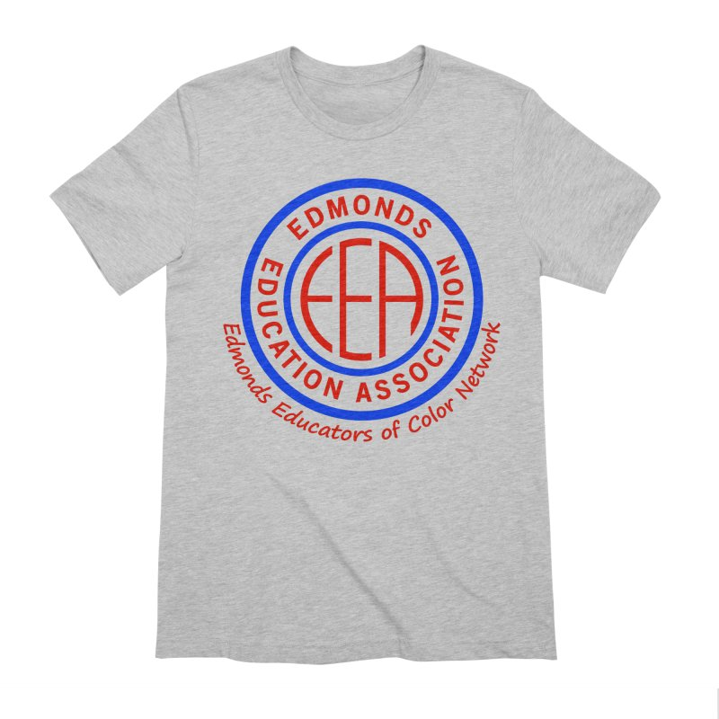 Edmonds EA Seal-Edmonds Educators of Color Network Men's Extra Soft T-Shirt by Edmonds Education Association Swag Shop